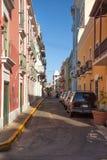 Street in San Juan Royalty Free Stock Photos