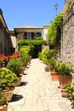 Street in San Marino Stock Image