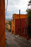 Street in San Miguel de Allende Stock Photography