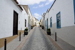 Street in San Miguel, Tenerife Stock Photography