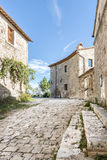 Street in San Quirico Royalty Free Stock Photography