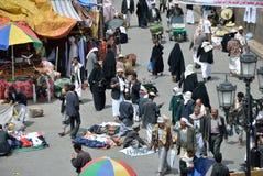 Street in Sanaa Stock Photography