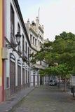 Street in Santa Cruz de Tenerife. Canary Islands. Spain Stock Photography
