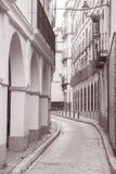 Street in Santa Cruz Neighbourhood; Seville Stock Image