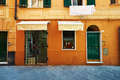 Street of Santa Margherita Ligure in Italy Royalty Free Stock Photos
