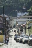 Street in Santa Teresa, Espirito Santo, Brazil. Stock Images