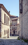 Street of Santillana del Mar Royalty Free Stock Images