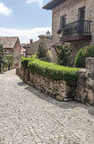Street of Santillana del Mar Royalty Free Stock Photos