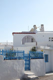 House on Santorini island Stock Images