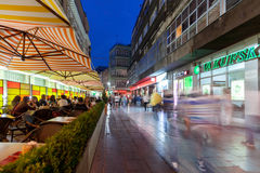 Street in Sarajevo Royalty Free Stock Photography