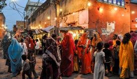 Street Scene, Agra, India Royalty Free Stock Images