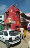 Street scene of Antananarivo, Madagascar Stock Image