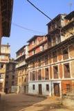 Street Scene, Bhaktapur, Nepal Stock Images