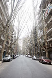 Street scene in the Buenos Aires - Argentina Stock Image