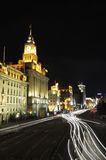 Street scene of The bund (Shanghai) Royalty Free Stock Images