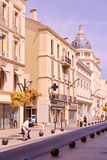 Street scene from Cannes Royalty Free Stock Images