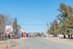 Street scene of Carnavon Stock Photography