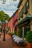 Annapolis Street Scene Royalty Free Stock Photos