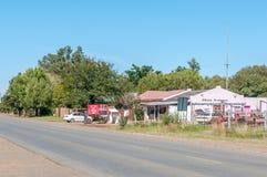 Street scene in Dealesville Stock Images