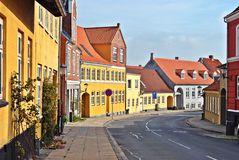 Street scene in Denmark Royalty Free Stock Photography