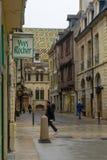 Street scene in Dijon Royalty Free Stock Photography