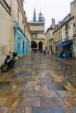 Street scene in Dijon Royalty Free Stock Image