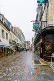 Street scene in Dijon Royalty Free Stock Photos