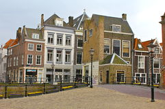 Street Scene in Dordrecht, Netherlands Stock Images