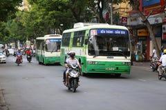 Street scene, downtown Hanoi, Vietnam Stock Image