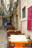 Street Scene, Dubrovnik Royalty Free Stock Images