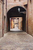 Street scene, Ferrara Royalty Free Stock Photo