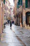 Street scene, Ferrara Royalty Free Stock Photos