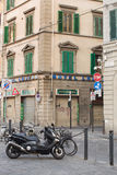 Street scene Florence Stock Photography