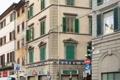 Street scene Florence Royalty Free Stock Images