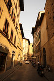 Street Scene in Florence Stock Photo