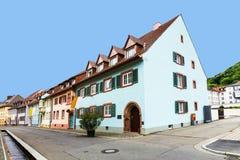 Street scene in Freiburg im Breisgau Stock Photography