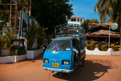 Street scene of Goa, India Royalty Free Stock Photo