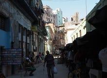 Street Scene In Havana Cuba Stock Photos