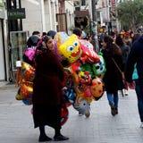 Street Scene In Heraklion Crete Greece Stock Photo