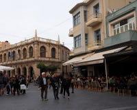 Street Scene In Heraklion Crete Greece Stock Images