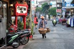 Street scene from Hua Hin, Thailand Royalty Free Stock Photo