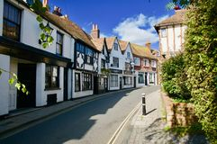 Street Scene In Rye Stock Photos