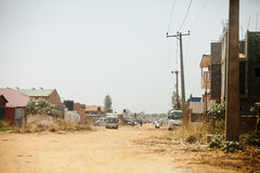 Street scene, Juba, South Sudan Stock Photo
