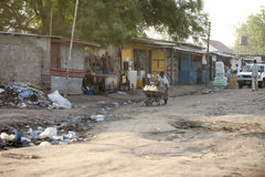 Street scene, Juba Sudan Stock Photo