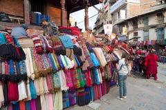 Street Scene, Kathmandu, Nepal Stock Photography