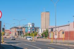 Street scene in Kimberley Royalty Free Stock Image
