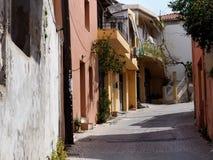 Street Scene In Kritsa Crete Greece Royalty Free Stock Photos