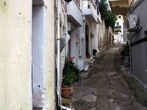 Street Scene In Kritsa Crete Greece Royalty Free Stock Image