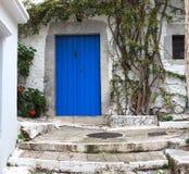 Street Scene In Kritsa Crete Greece Stock Images