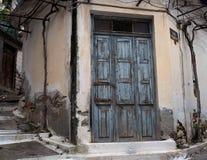Street Scene In Kritsa Crete Greece Royalty Free Stock Images